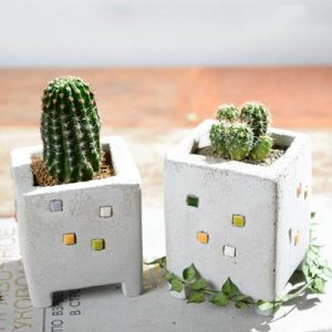 小房子磁磚 S(雙盆組)