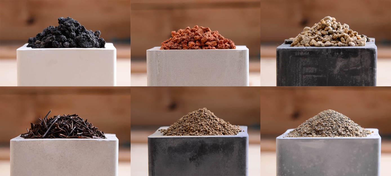 綜合介質,混合多種介質而成的多肉植物專用土