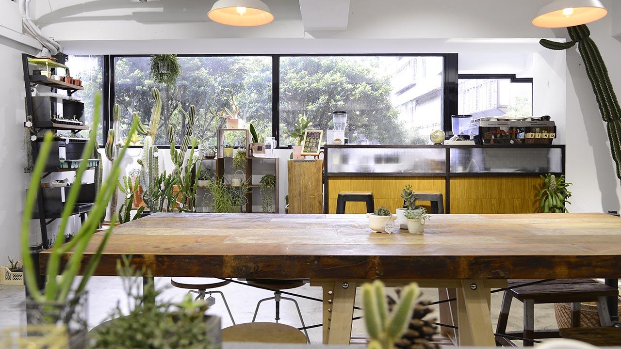 乾燥花圈上課教室,有肉課程教室,位在台北大安區