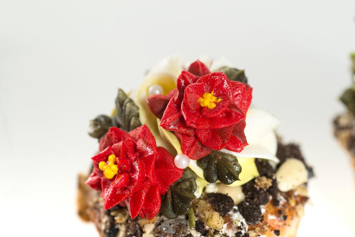 [ 韓式擠花課 ] 多肉擠花杯子蛋糕 4