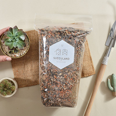 多肉植物專用土,資材也可以當禮物