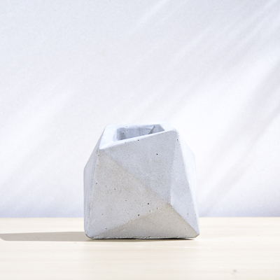 不規則幾何水泥小盆 400X400 DSC9007