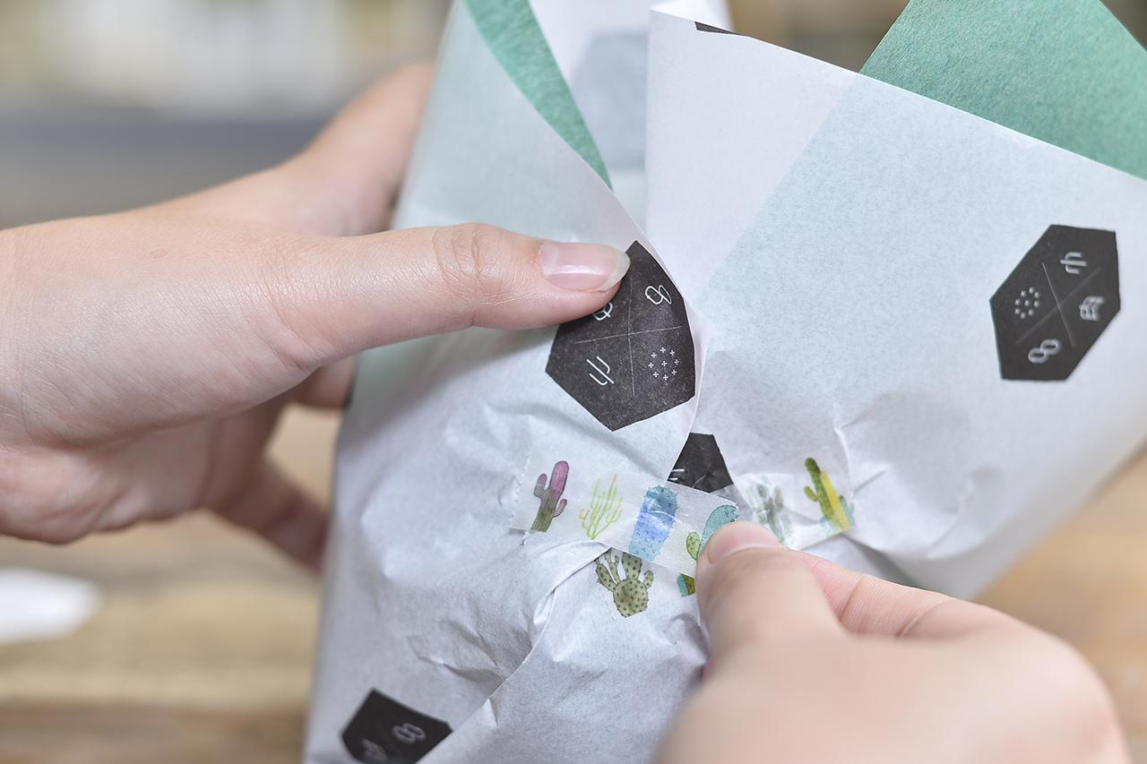 禮物包裝的細節