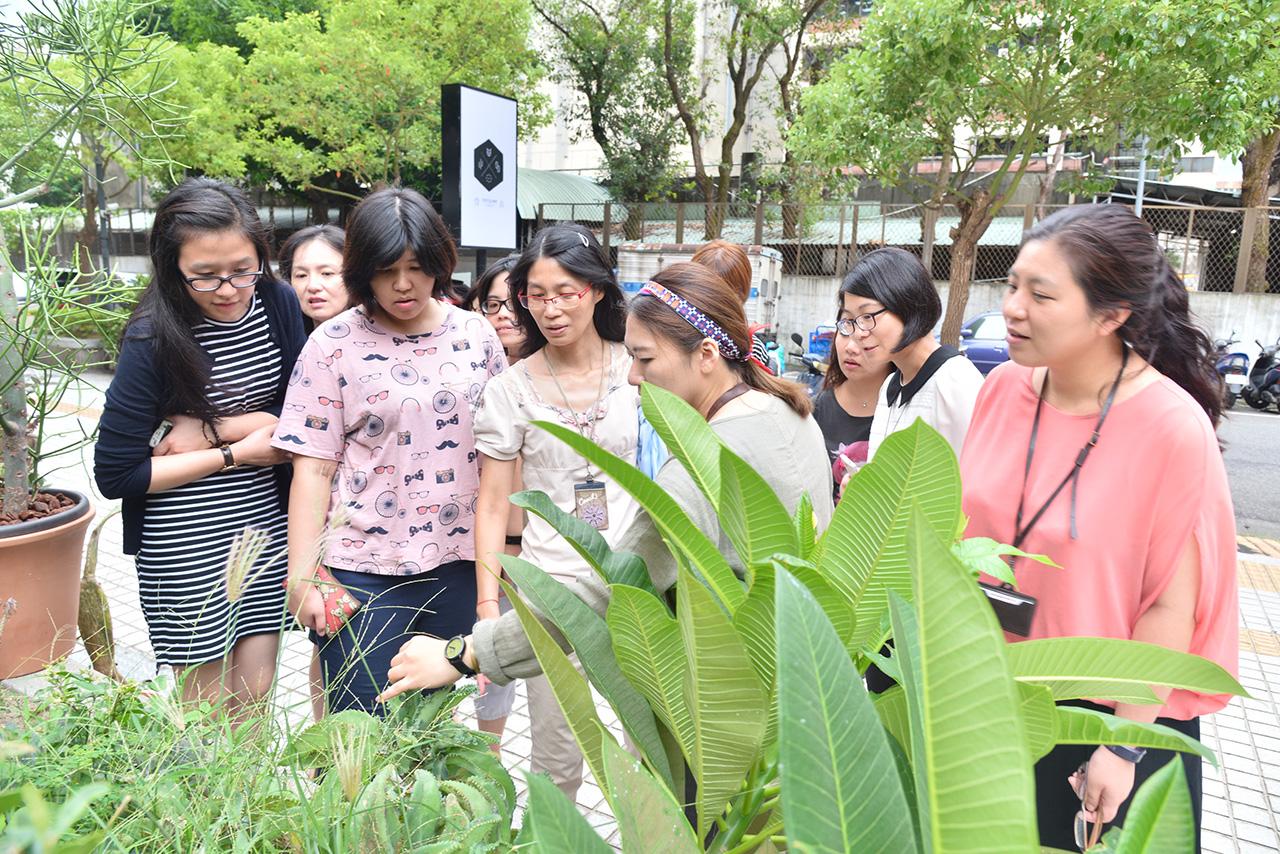 Team building活動:導覽認識多肉植物