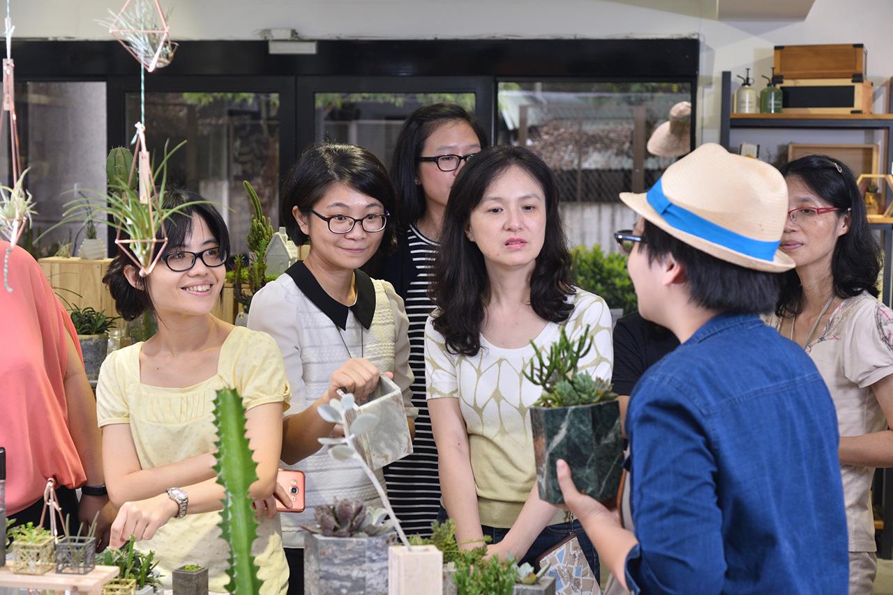 Team building活動:認識台灣盆器設計師
