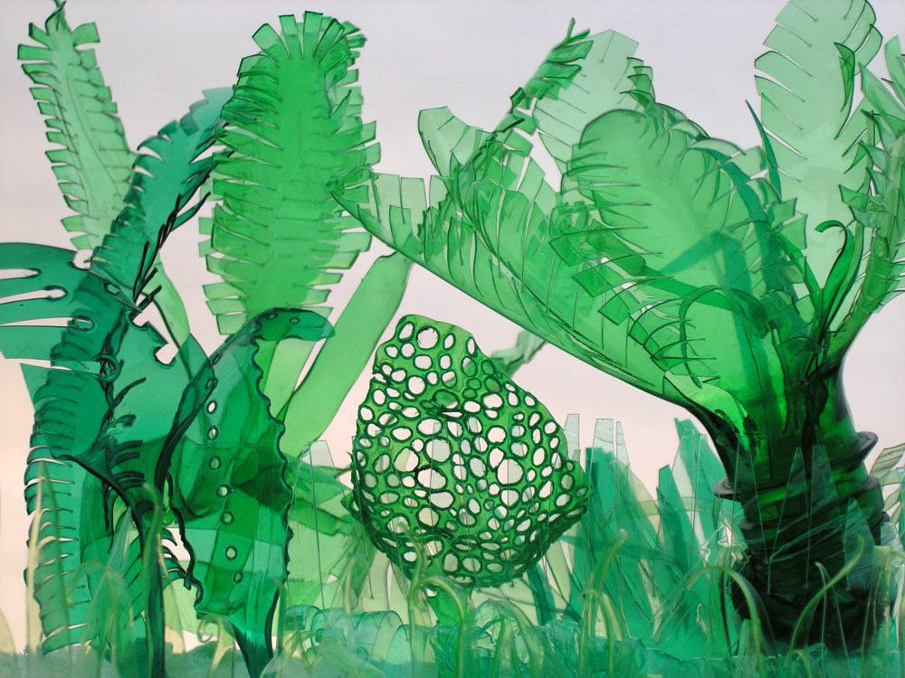 塑膠森林創作