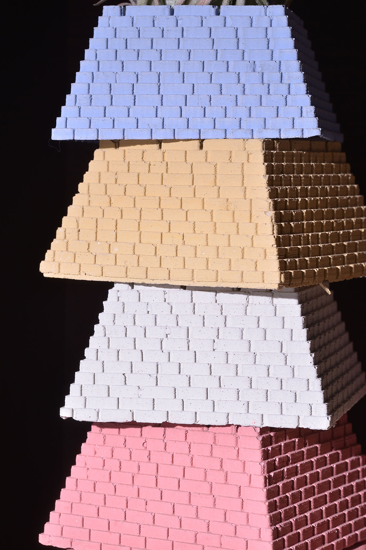 小金字塔(四色)+棉花糖空氣鳳梨 5