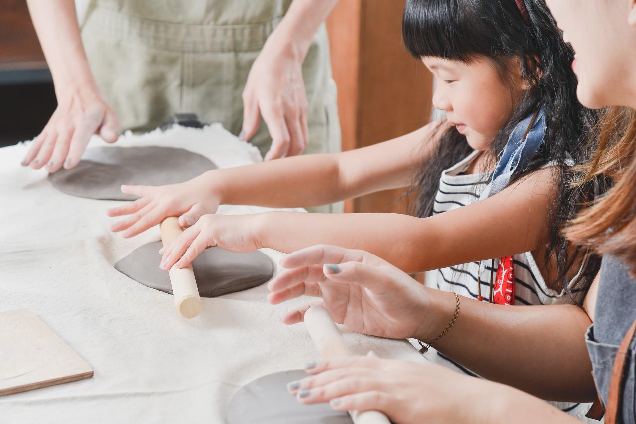 [ 親子課程 ] 手捏陶器 & 多肉組盆 1 複本 2