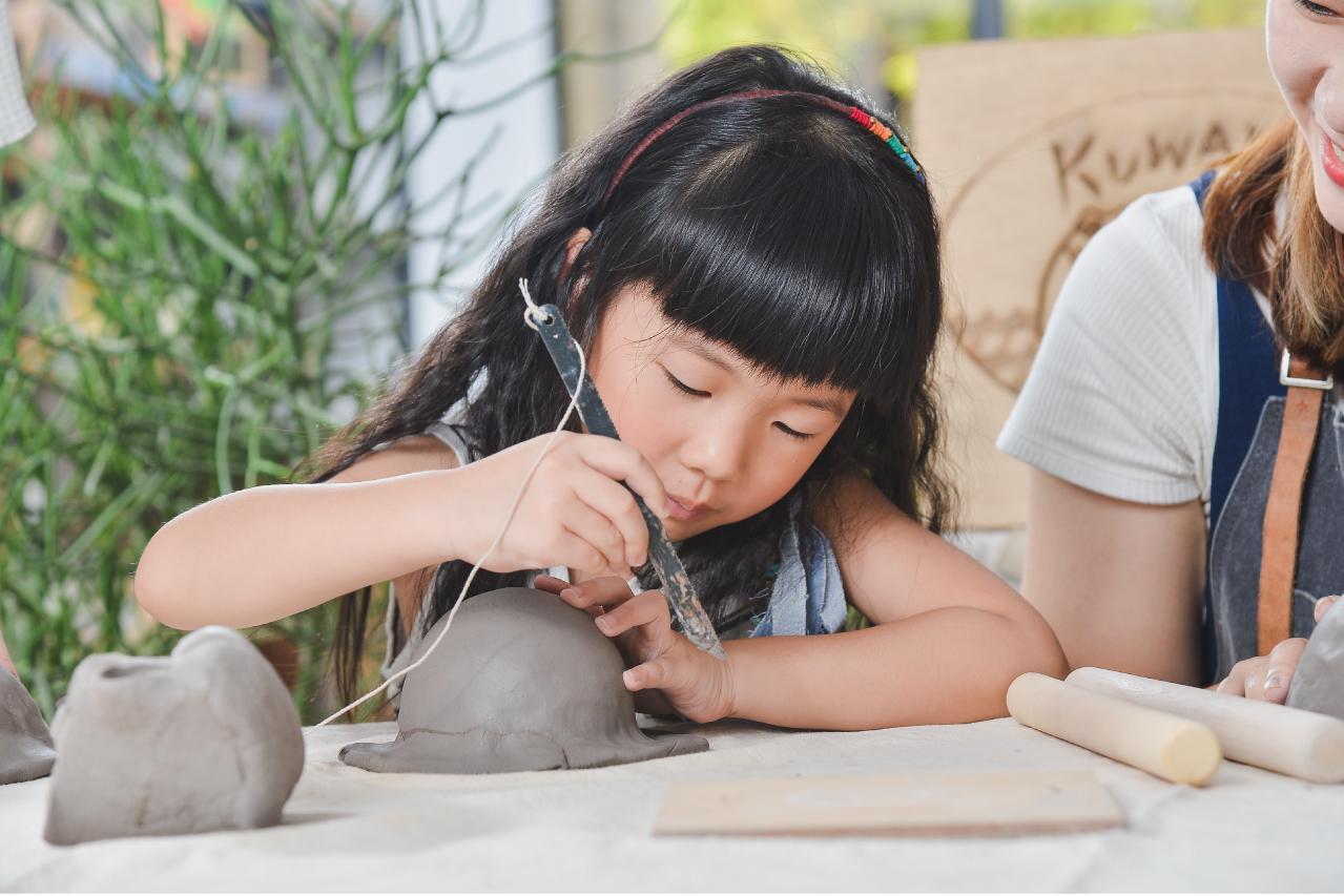 [ 親子課程 ] 手捏陶器 & 多肉組盆 1 複本 5