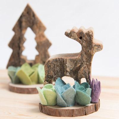 麋鹿形狀的禮物