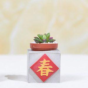 春聯好運磁鐵 - 春 2