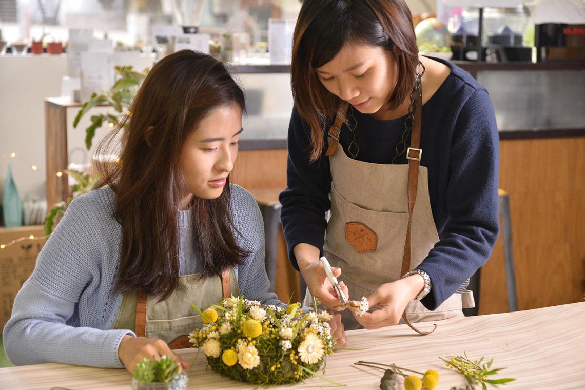 台北體驗教室,園藝體驗匯集地 0223查查花中花圈 1132