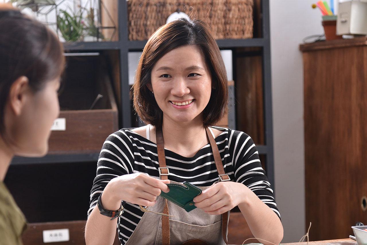 仙人掌皮革卡套課程老師:Chili老師