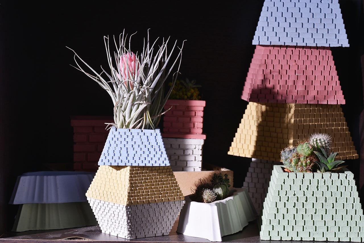 小金字塔(四色)+棉花糖空氣鳳梨 2
