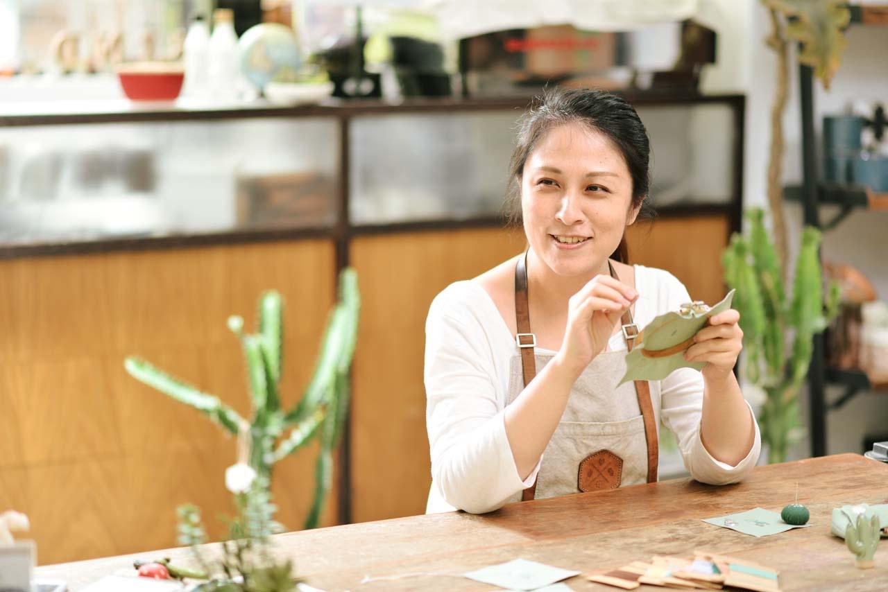 [ 刺繡課程 ] 仙人掌の刺繡課 0612有肉刺繡課程 4857