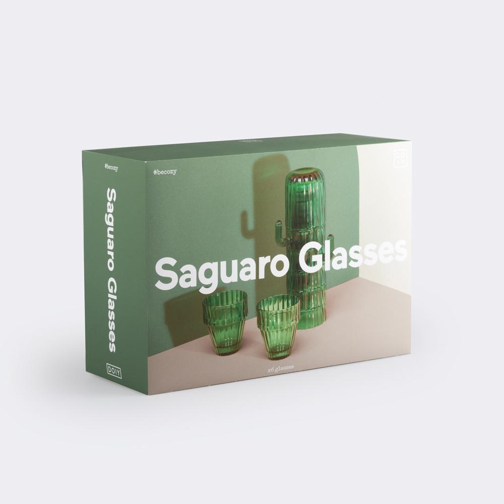 仙人掌玻璃水杯 6