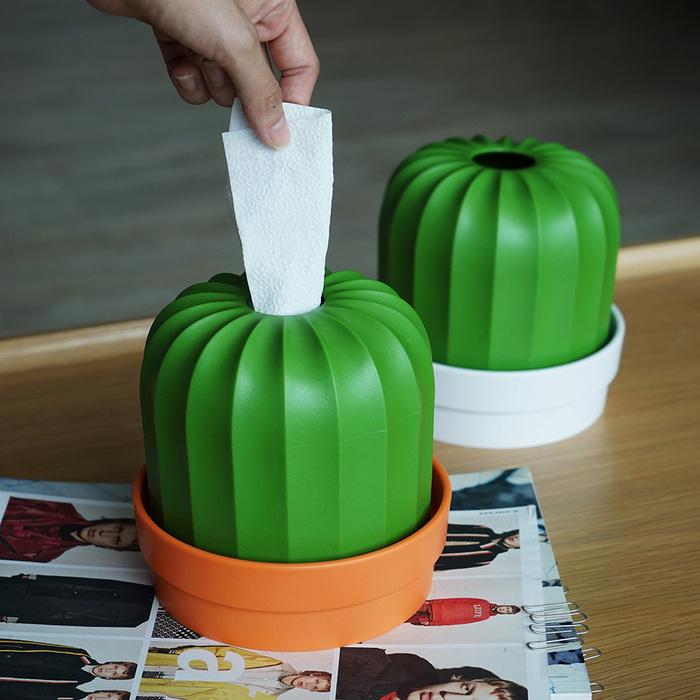 仙人掌捲筒衛生紙盒 2