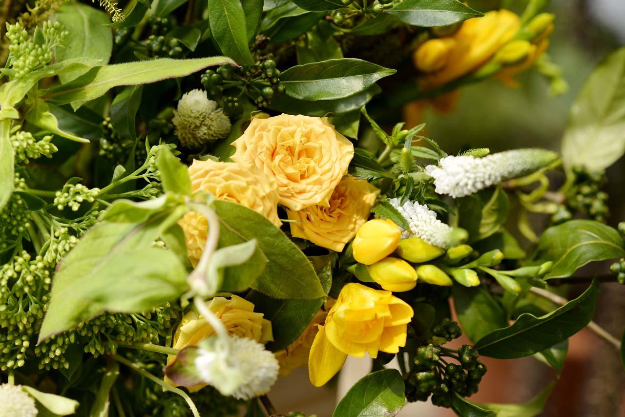 對於自然、對於美的體會絕對是誠實的,藉由花藝帶入生活,會讓你對美學敏銳起來