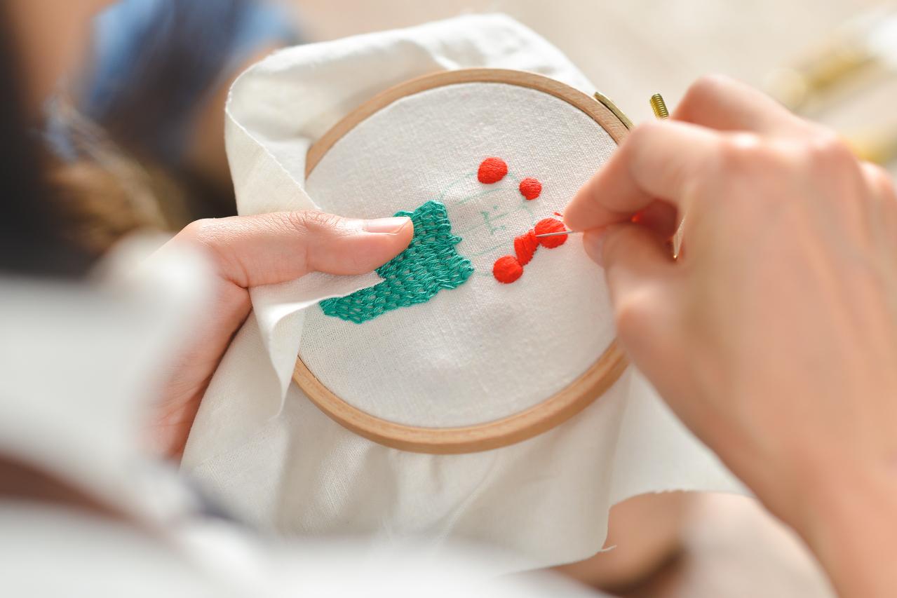 [ 刺繡課程 ] 仙人掌的刺繡課 6