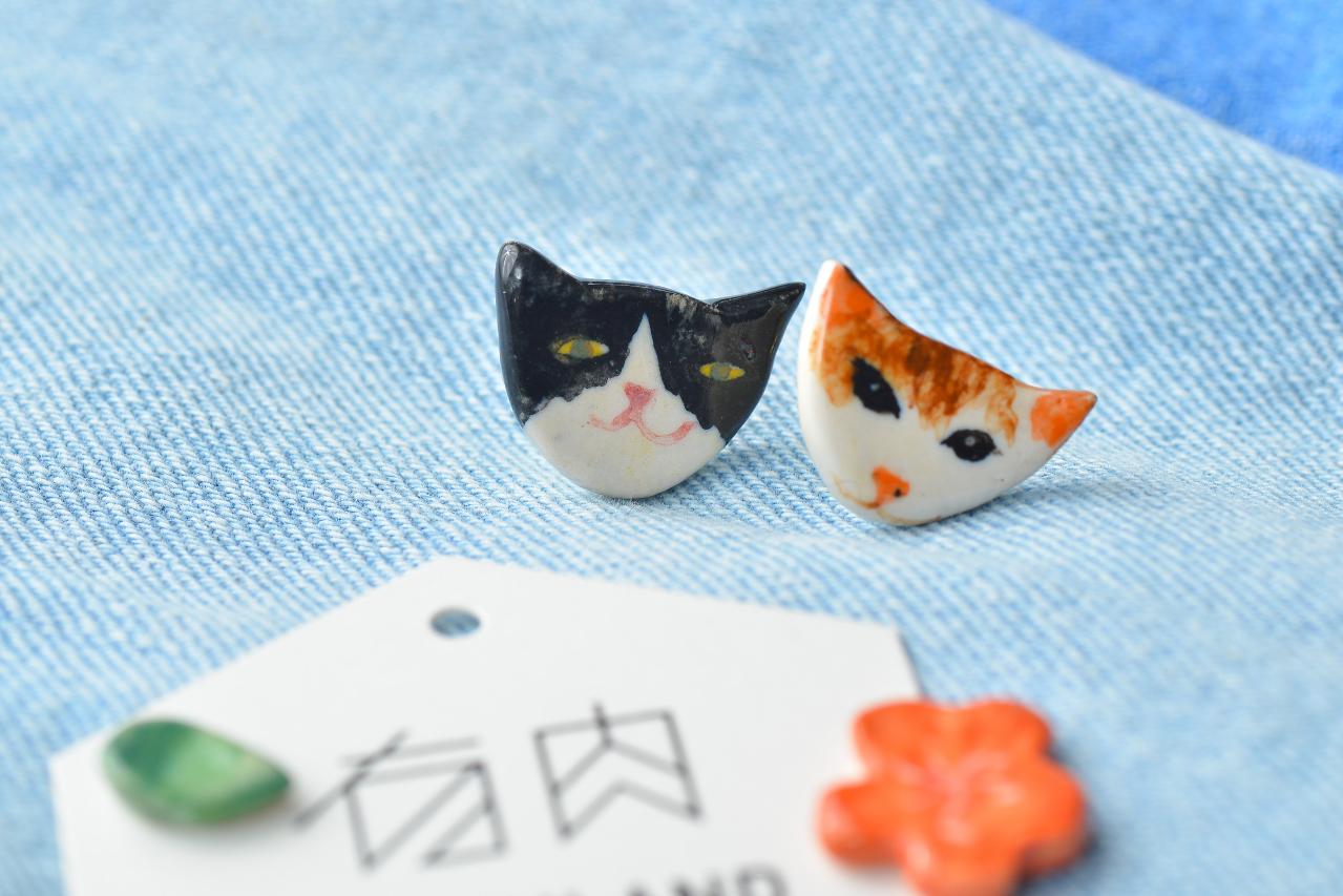 陶藝教學在台北大安區,快來創作屬於自己的陶質耳環吧!