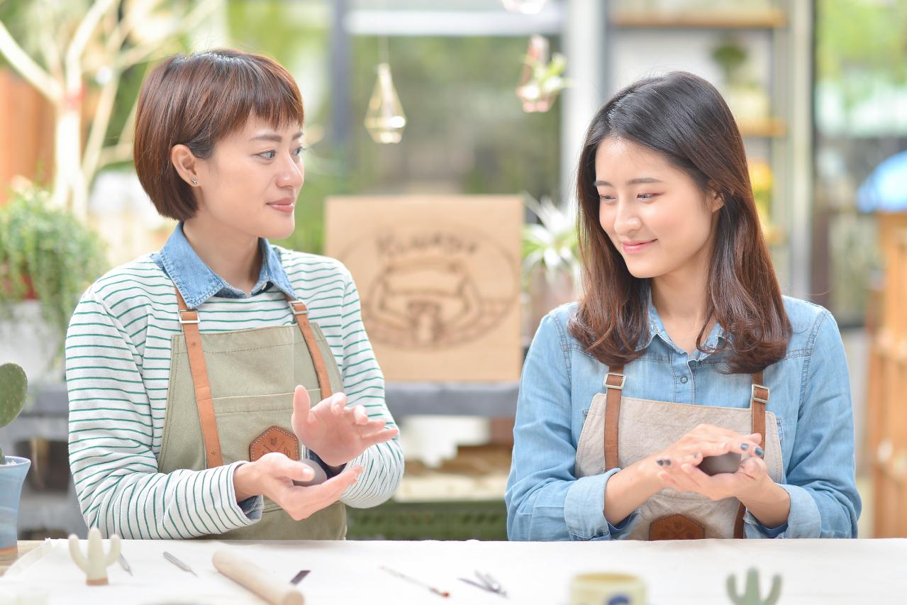 【陶藝課程】 迷你多肉耳環(台北教室) 5