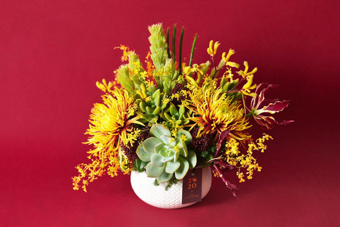 祝福圓滿的年節禮盒、春節花藝課程一次到位! 14