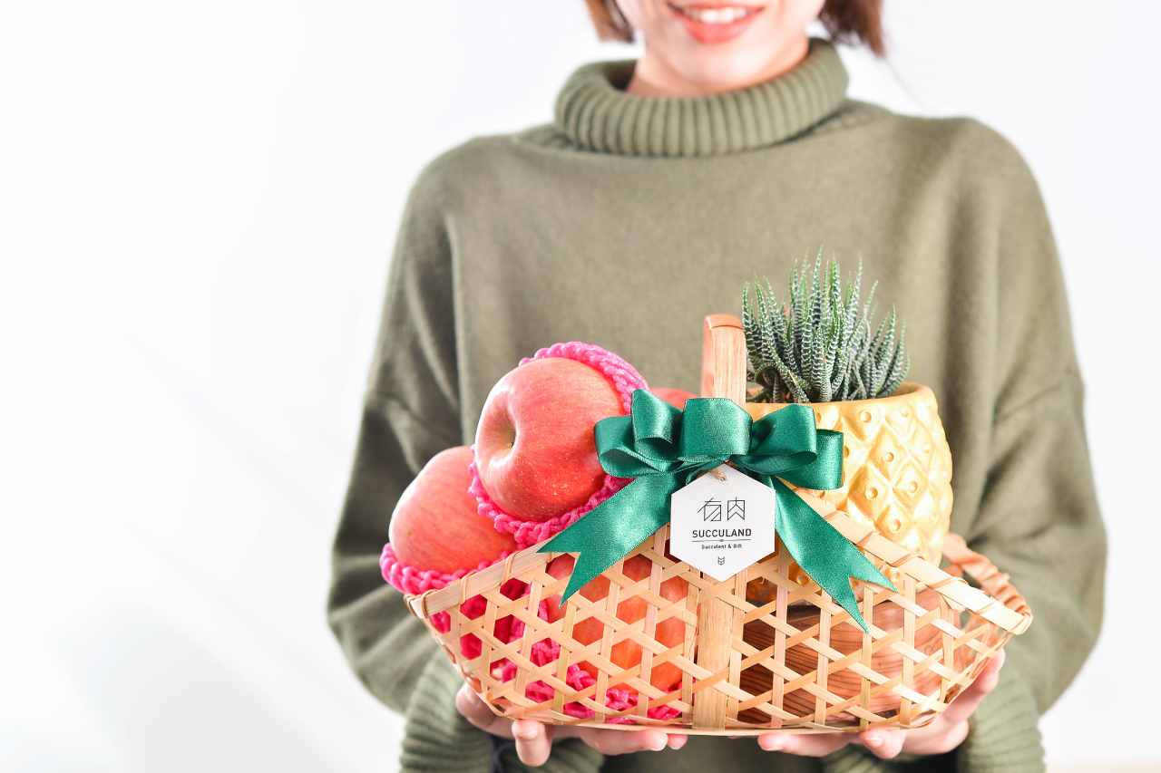 新春好旺!送禮水果籃、春節花藝課程一次到位! 2