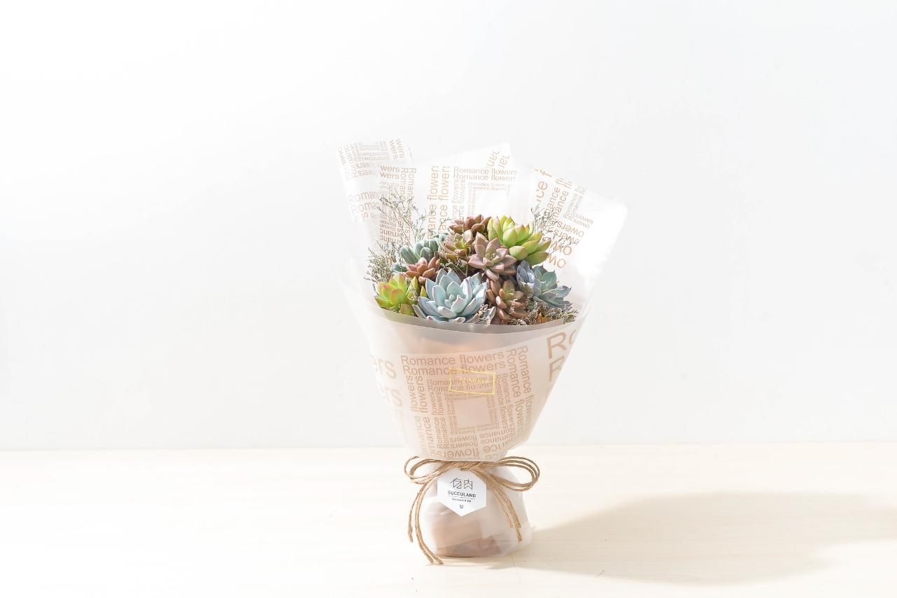 花束的美好與優雅,都是在收到的那一刻最能感動人心