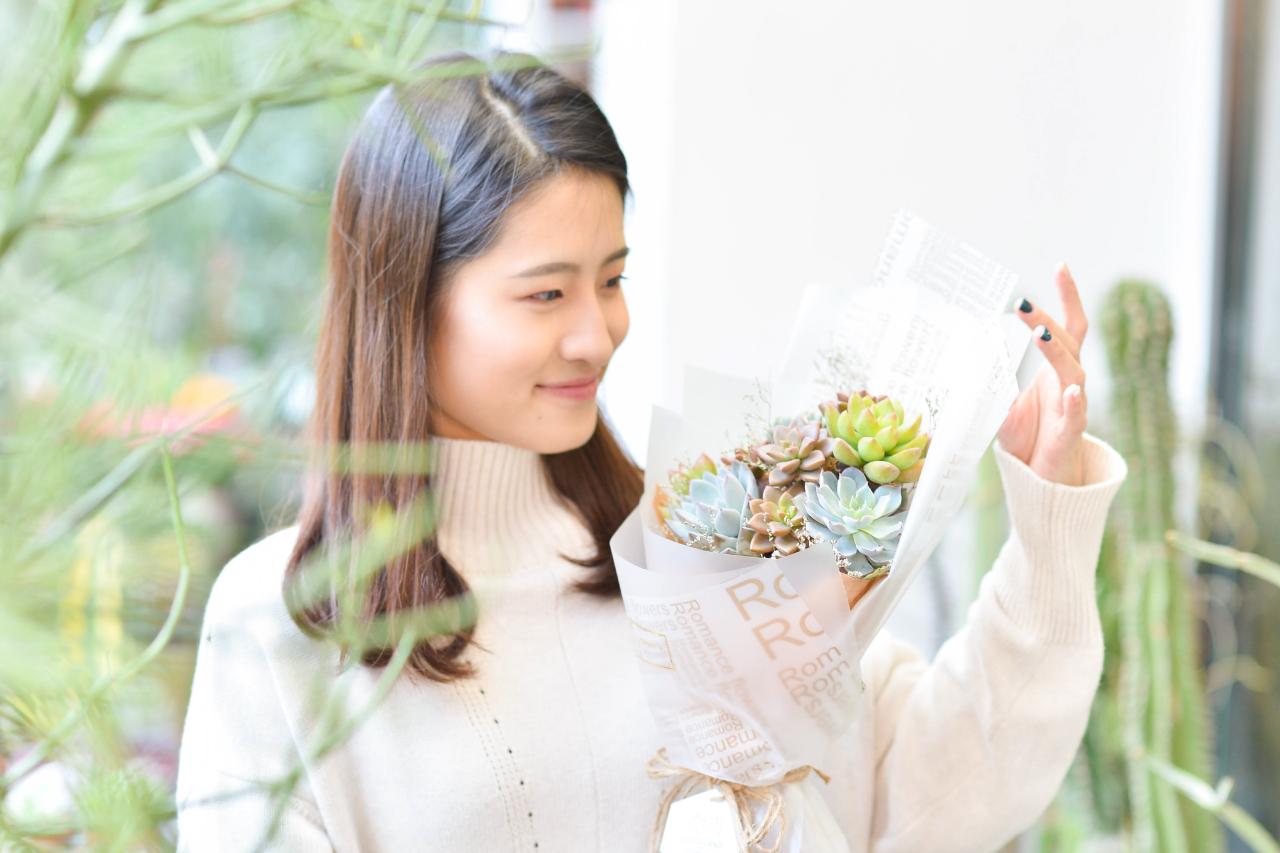 讓喜歡植物的人都能夠認識到多肉植物的美好