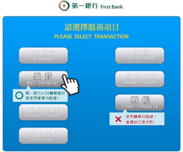 常見 Q&A firstbank atm