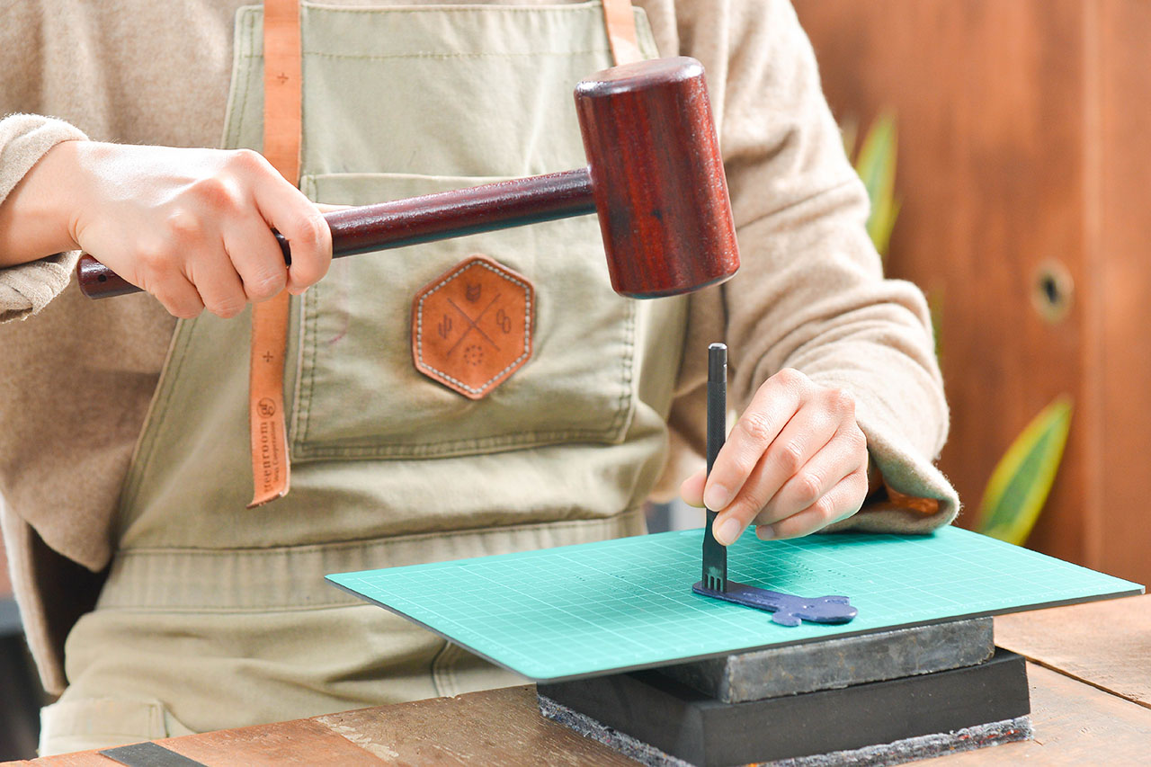 [ 皮件課程 ] 皮革仙人掌小夥伴 4