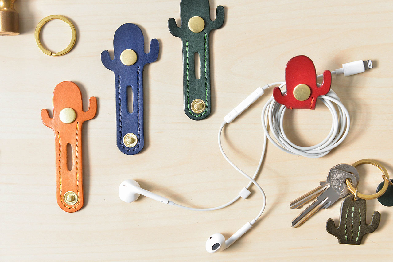 皮革耳機收納手作課