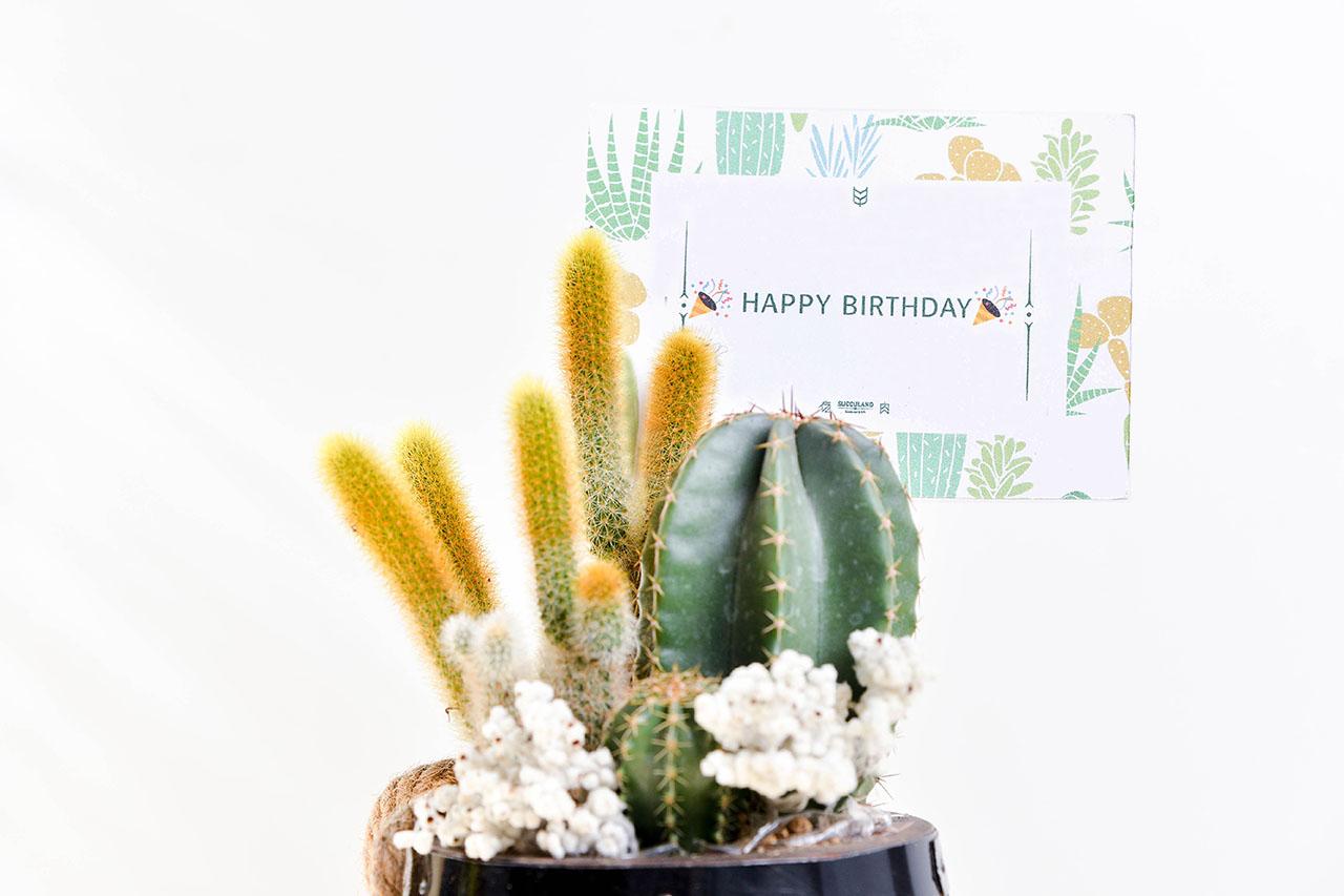 生日賀卡、賀詞都可以客製化