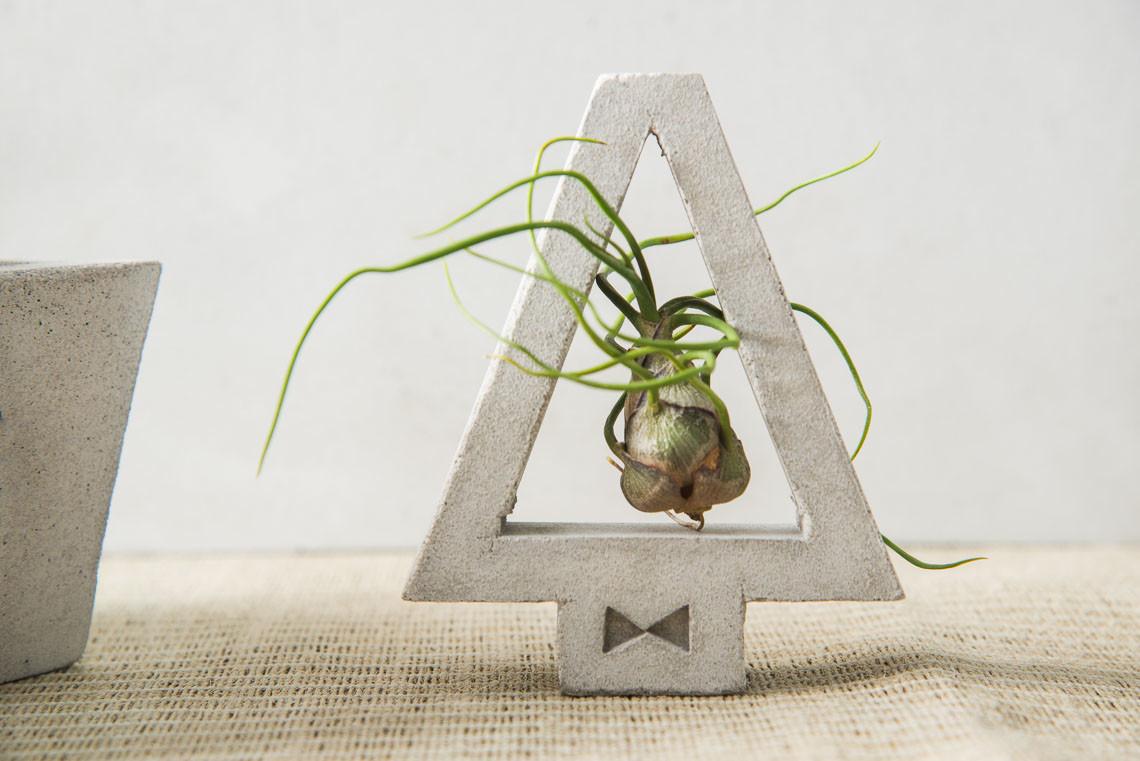 [ 水泥課程 ] 幾何水泥盆栽製作 & 多肉植栽 8