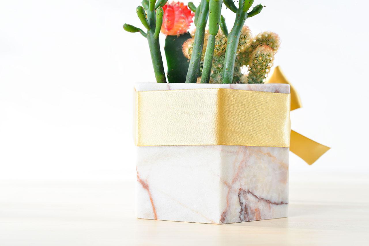 抓錢寶盒 - 粉色大理石盆 大理石 1280x853 01