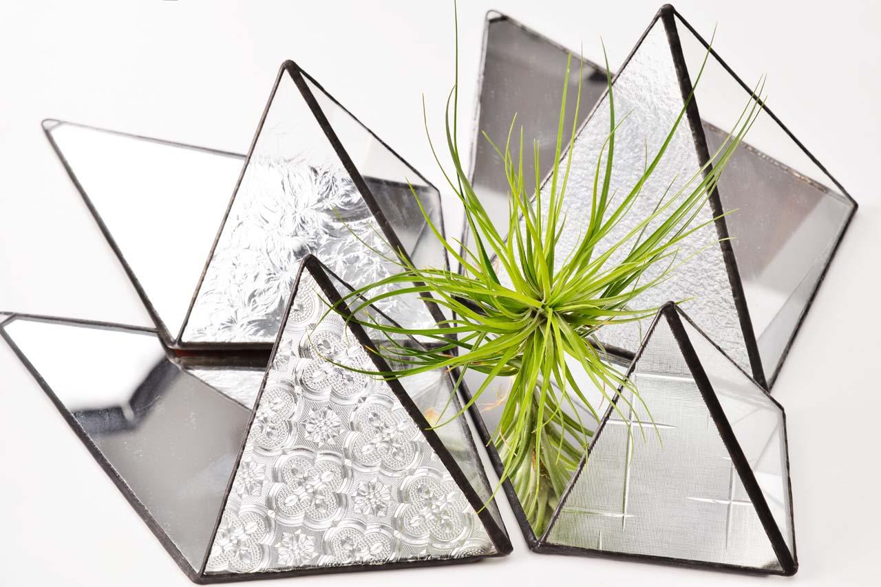 玻璃鑲嵌與空氣鳳梨