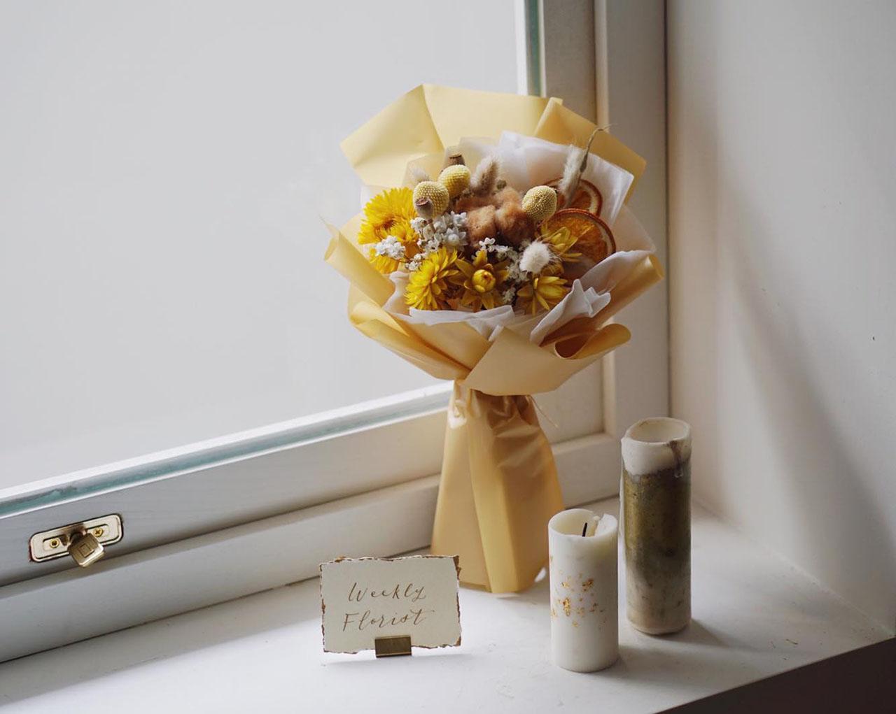 青春如花,9 間新銳花店的畢業花束提案 5