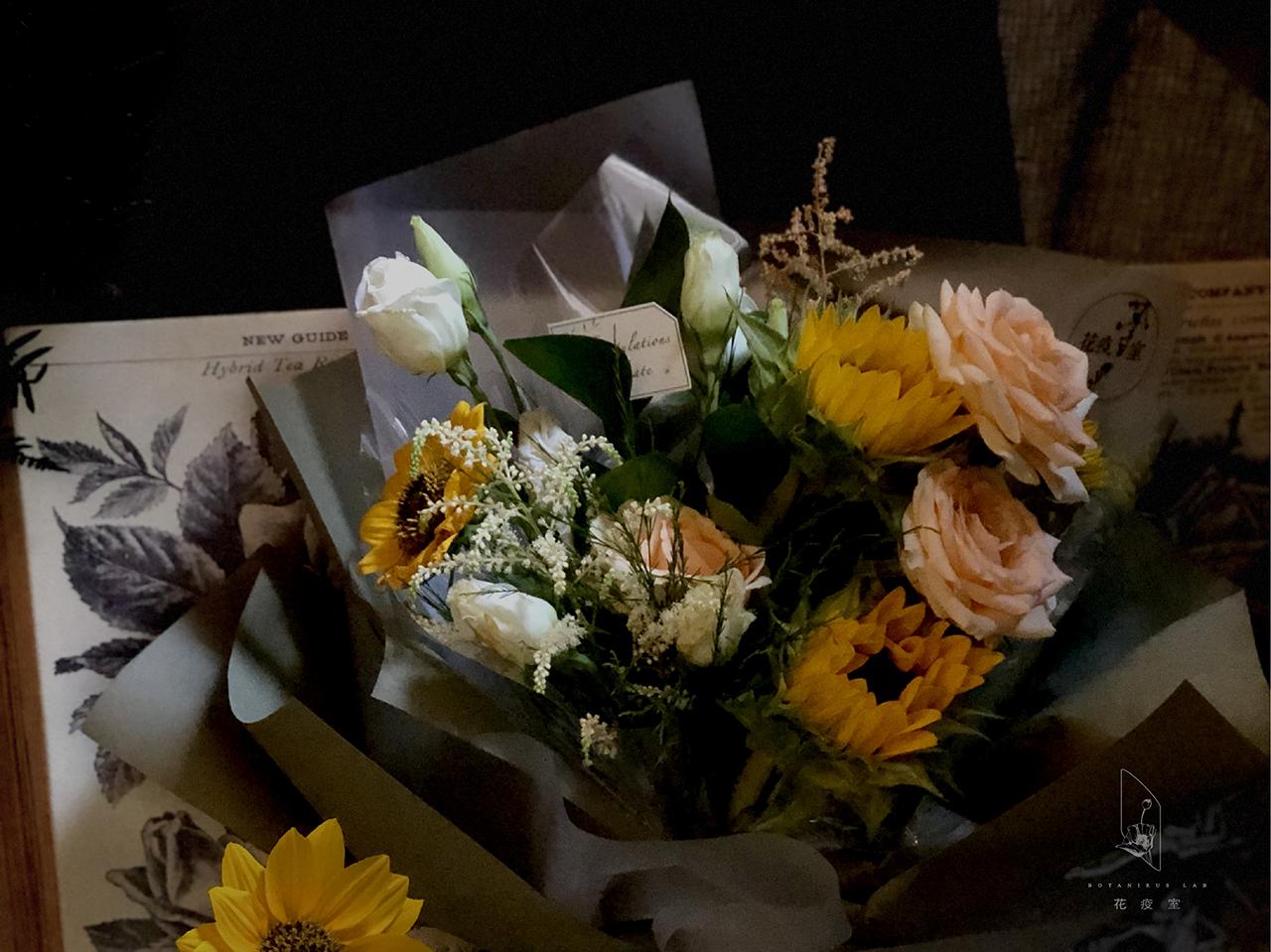 青春如花,9 間新銳花店的畢業花束提案 6