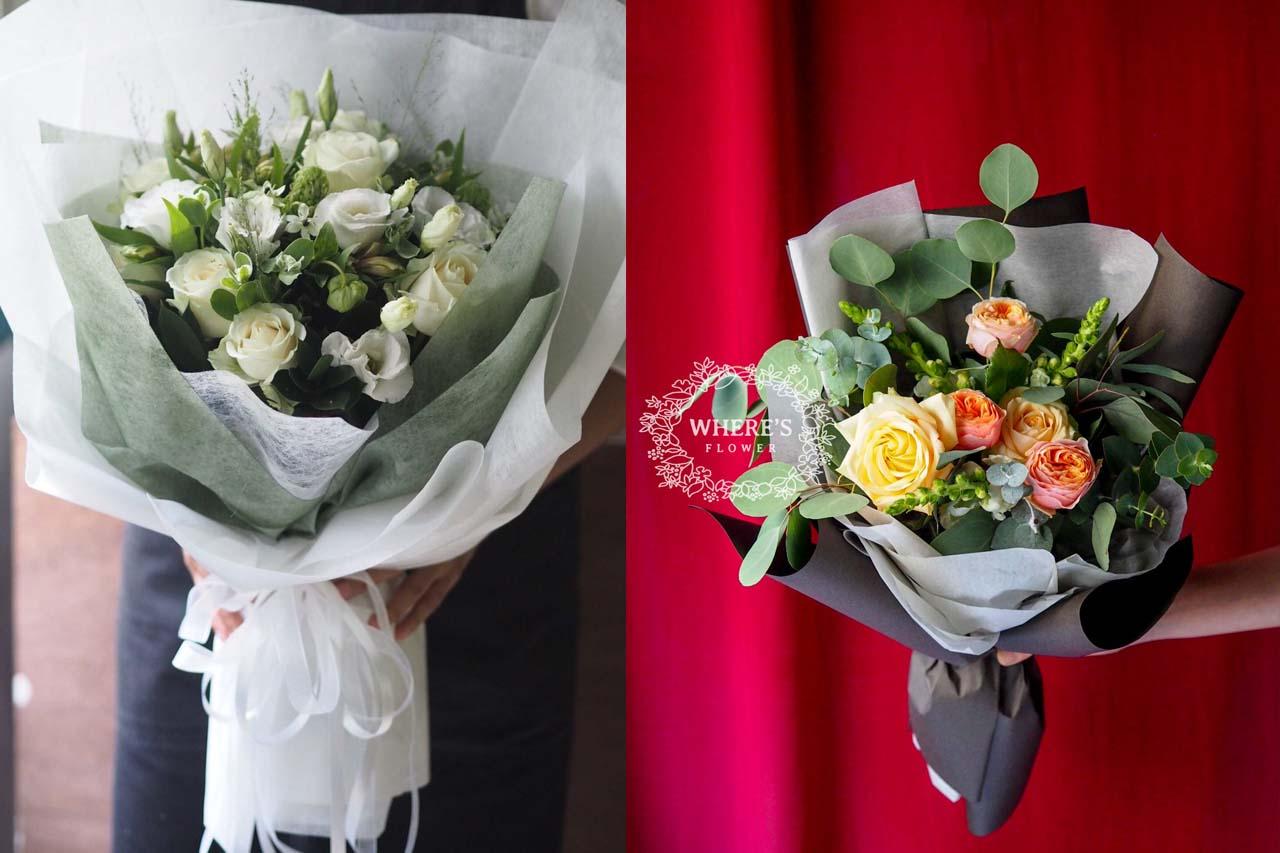 台北天母花店,畢業花束的新選擇,讓送禮送的極端體面
