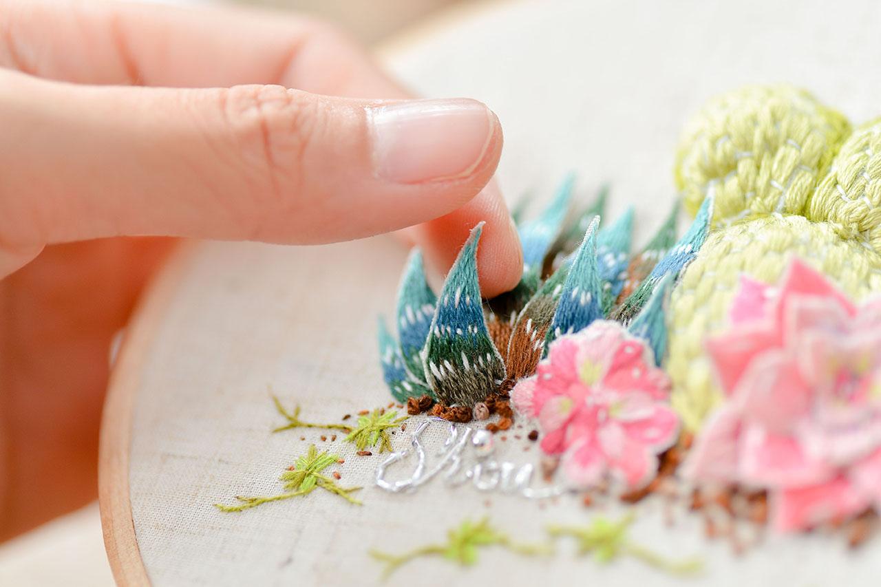 刺繡課程2018