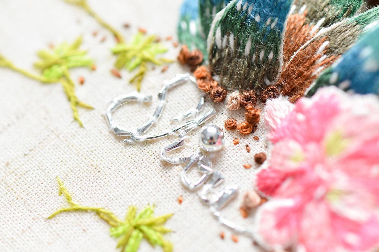 手縫英文字創造自己的作品