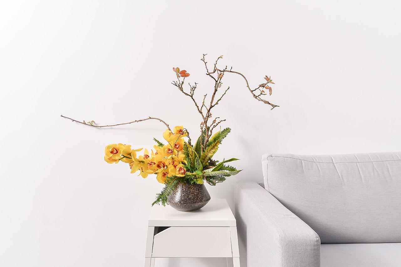 黃金蘭花鑽石盆栽 蘭花2 1280x853 01