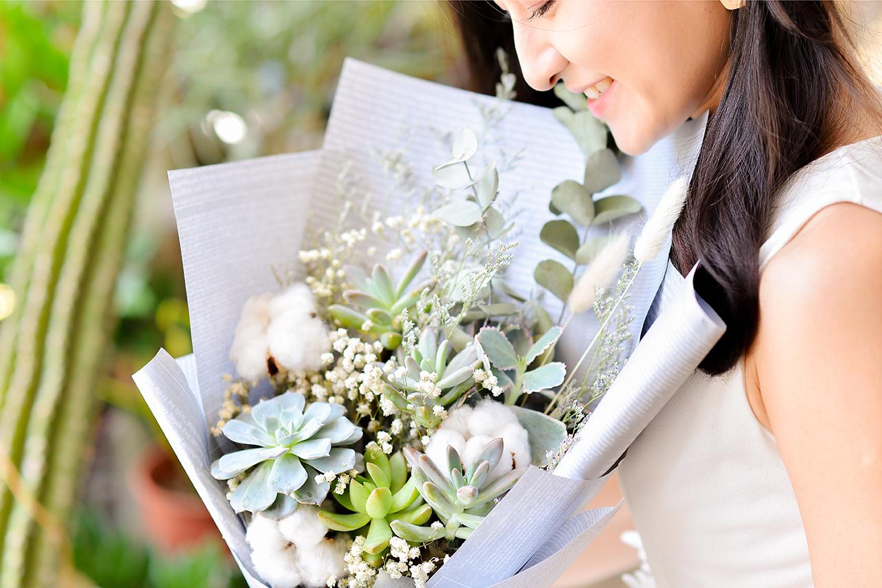 大安區花店 乾燥花束