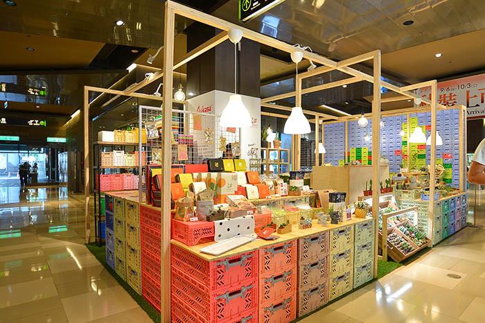 京站-多肉植物快閃店