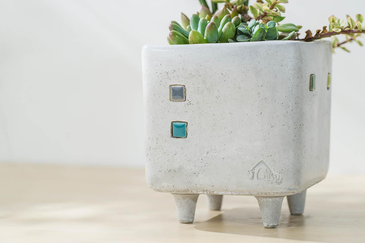 水泥盆栽設計