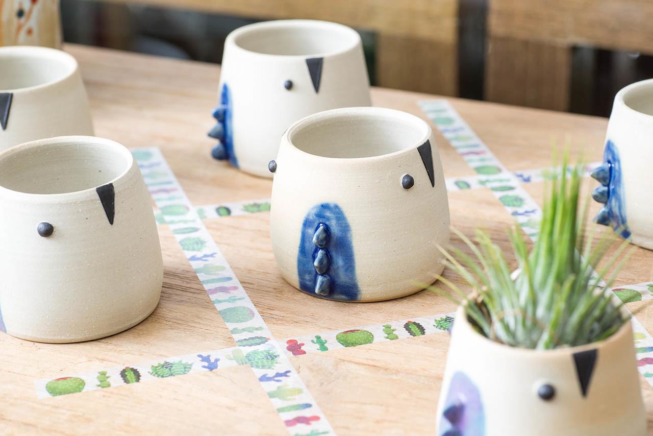 陶器展覽米口陶