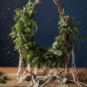 智者魔環 - 自然聖誕花圈 400拷貝