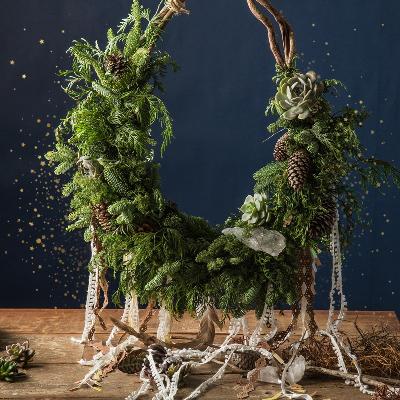 智者魔環 - 自然聖誕花圈 1
