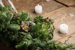 最有溫度的聖誕手作,一起動手做聖誕花圈、聖誕樹! 8