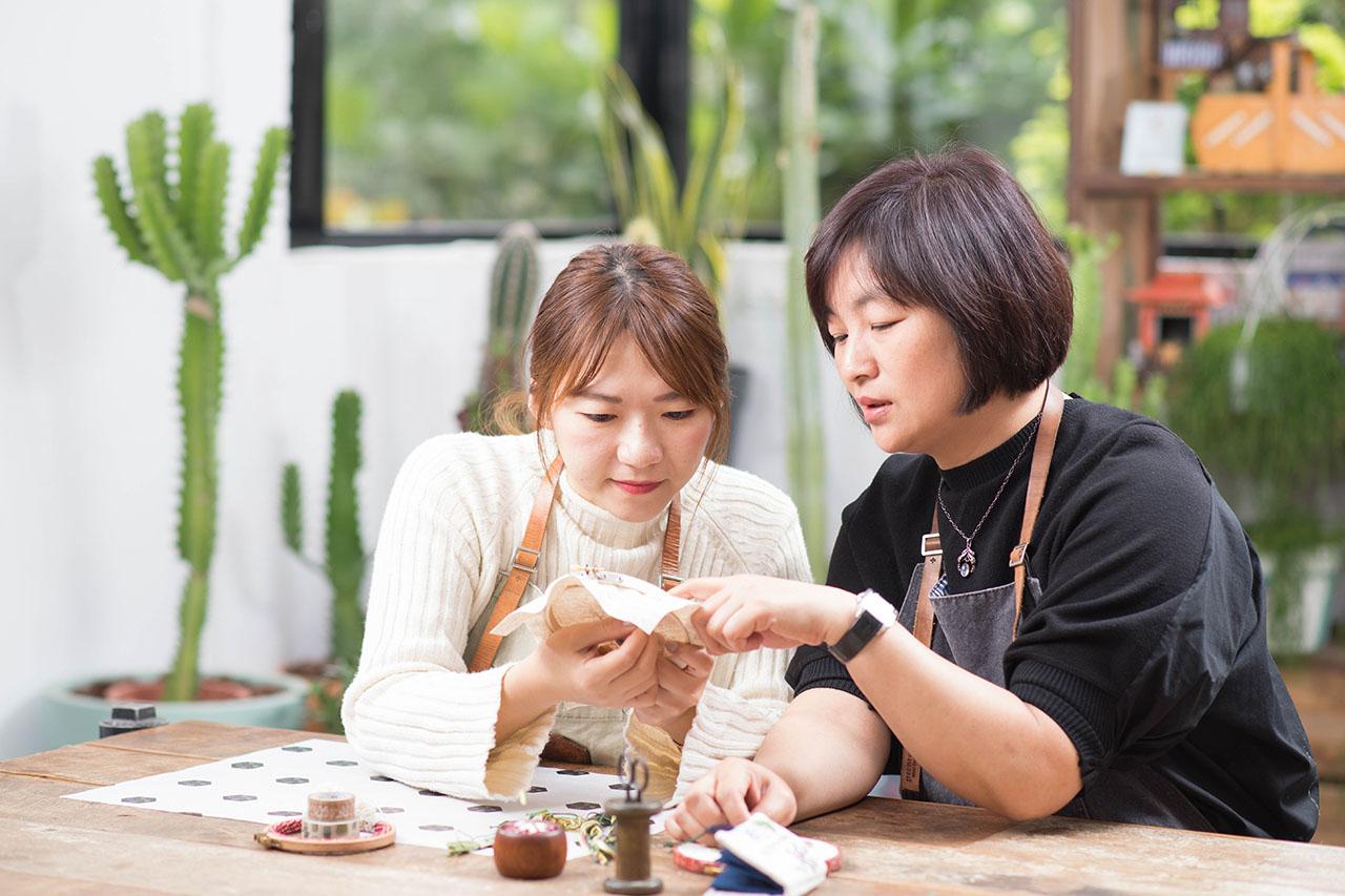 台北刺繡教學